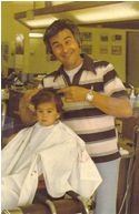 gene cutting childrens hair 1979